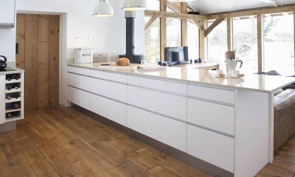 Cómo decorar una cocina sin muebles altos