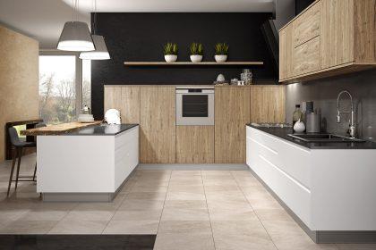 Cocinas rústicas modernas