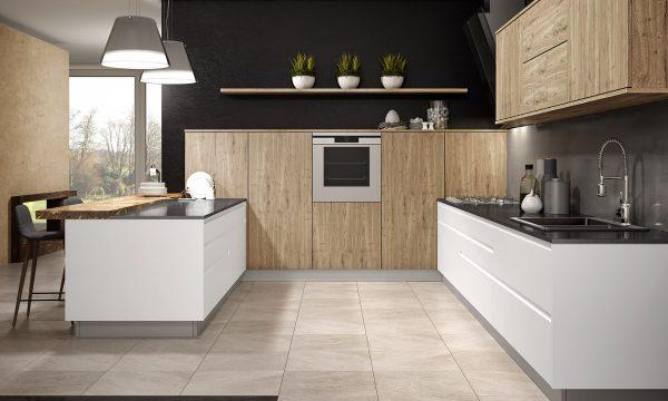 ¿Electrodomésticos integrados o de libre instalación en la cocina?